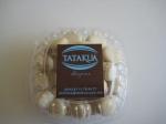 Caja de mini alfajores de maizena rellenos de dulce de leche