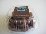 Caja de mini alfajores de chocolate rellenos de dulce de leche