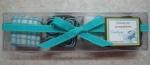 Caja rectangular de 4 alfajores regulares
