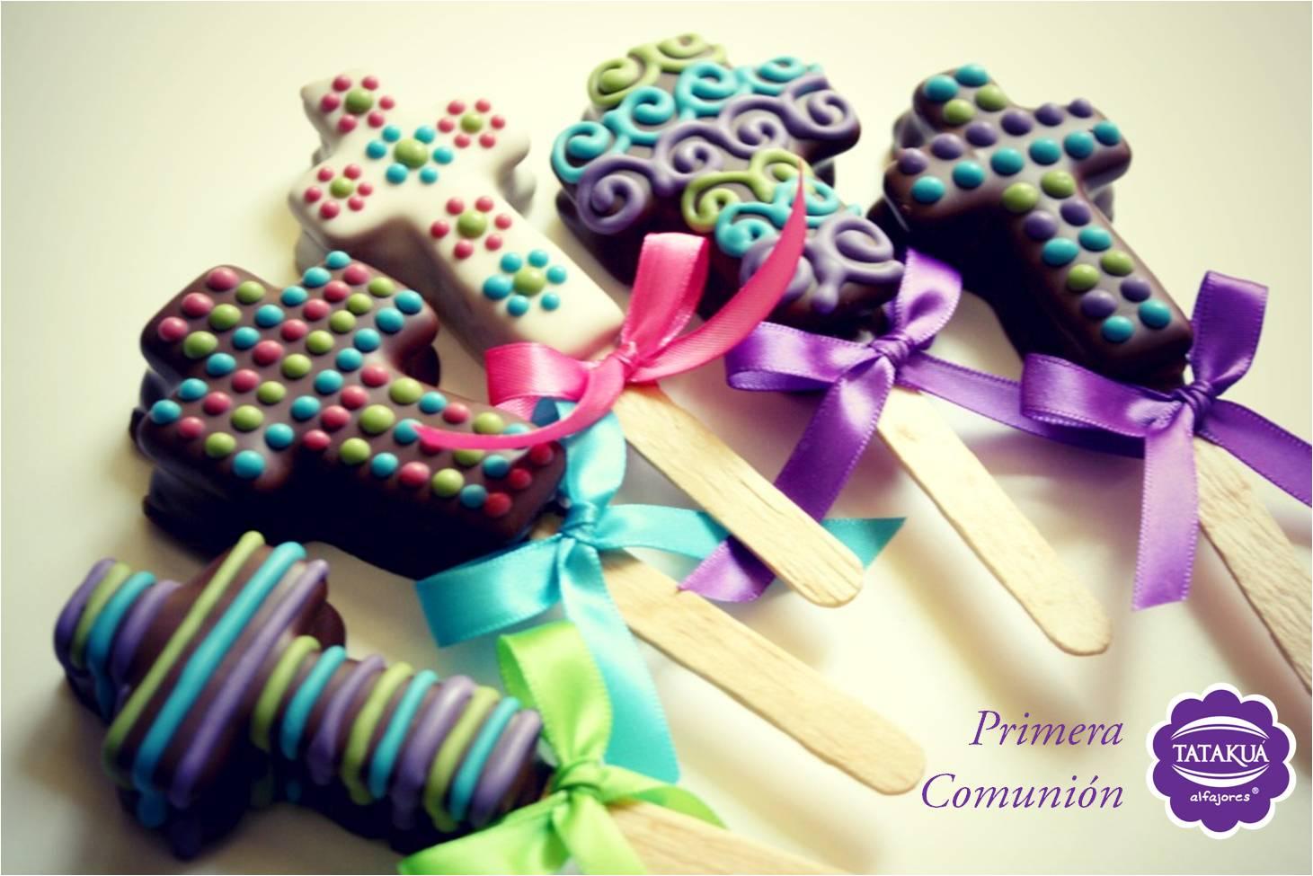 Paletas De Chocolate Para Primera Comunion