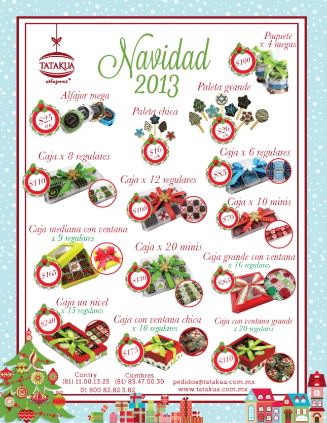 Tatakua Alfajores - Resumen Catalogo Navidad 2013